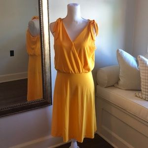 Ann Taylor Yellow Dress